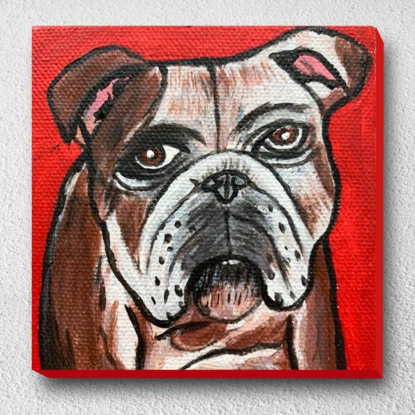 ภาพวาดหมาแก่