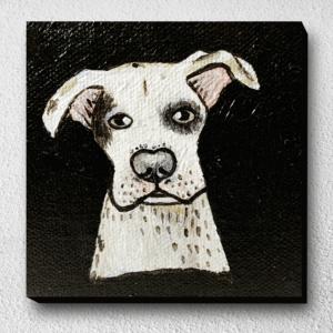 ภาพวาดหมาหน้างง