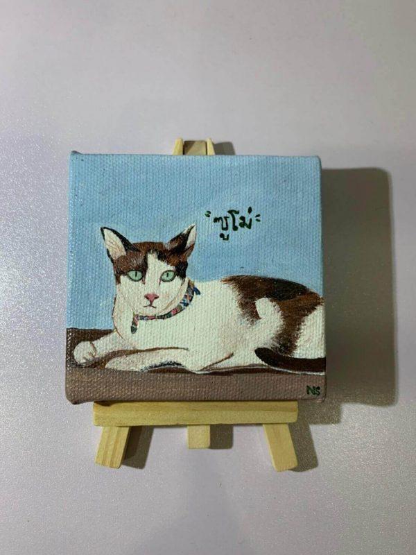 รูปวาดแมวอาร์ตๆ ภาพ ซูโม่