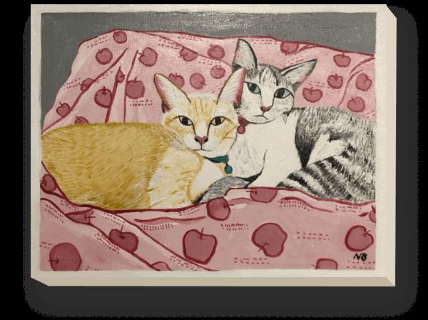 รูปแมวคู่รัก