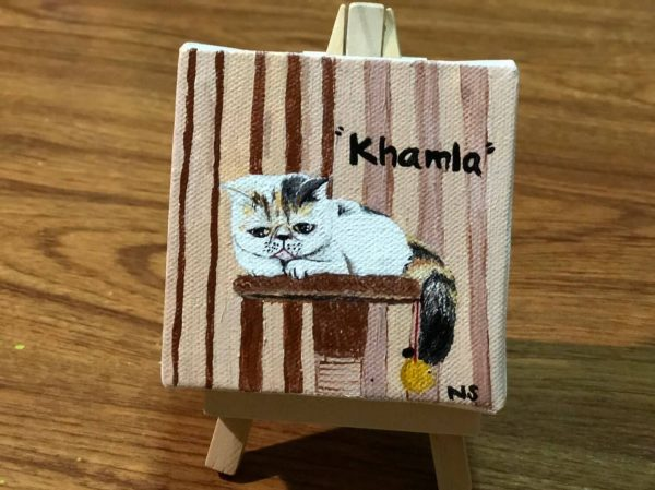 รูปวาด แมว อาร์ต ๆ khamla