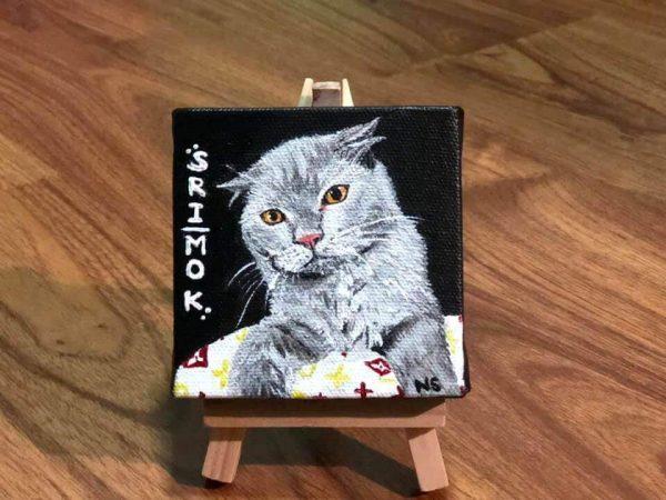 รูปวาดแมวอาร์ต ๆ Srimok